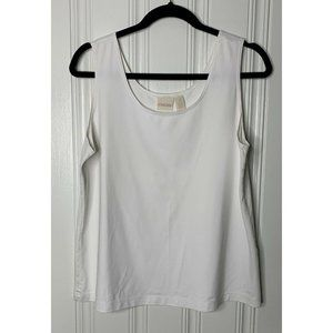 Chico's Size 3 Womens Ivory Camisole Top Large 16